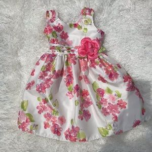 Young land flowered dress size 3t